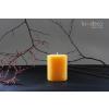Handmade Gold Yellow Rustic Pillar Candles