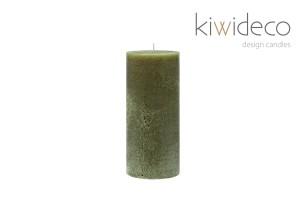 Medium Rustik Oliven Grøn Stor